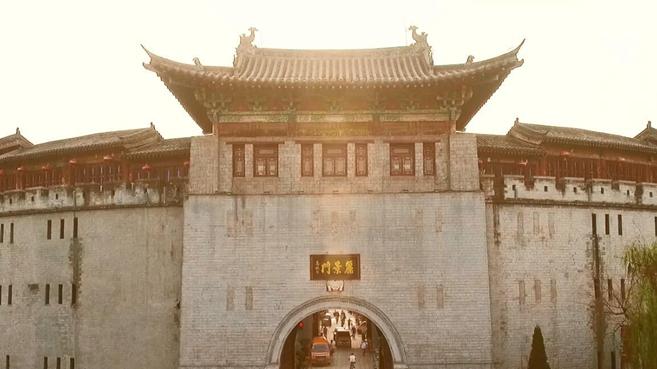 新華網航拍:老城記憶