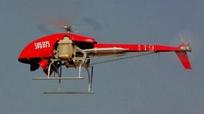 無人機空投滅火彈助力消防