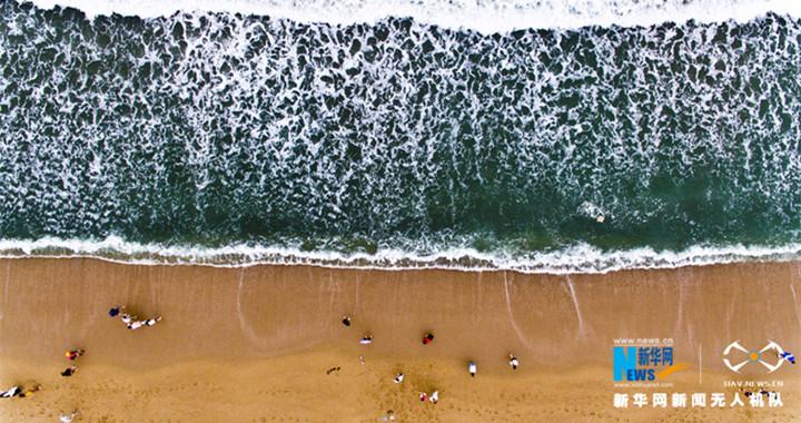 俯瞰惠州雙月灣 盡享海島風光