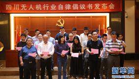 """""""上天""""是一件嚴肅的事 新華網聯合多家無人機企業發布行業自律倡議書"""