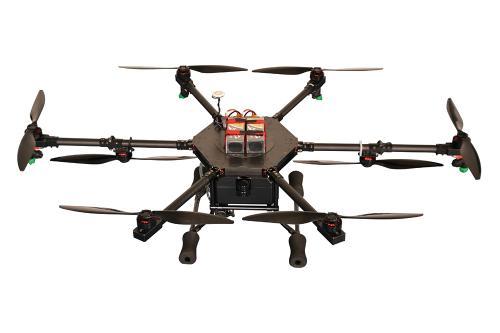 中國自主研制電動變距多旋翼無人機升限可達5000米