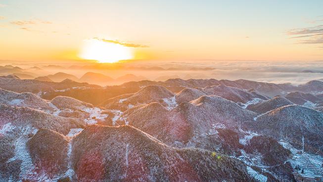 仙藻雲山雪岩頂