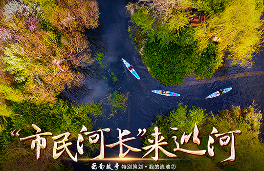 """【雲南故事特別策劃·我的滇池】""""市民河長""""來巡河"""
