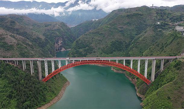 沿著高速看中國|瞰三峽庫區綠色蝶變