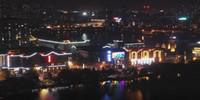 """【""""飛閱""""中國】安徽銅陵:湖光燈影夜色美"""