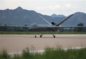 我國量産型彩虹五無人機試飛成功