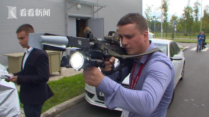 """擊落無人機的REX-1槍 能持續""""射擊""""4小時"""