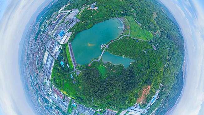 """720全景視角下""""綠色星球""""清溪鎮 讓你愛上東莞"""