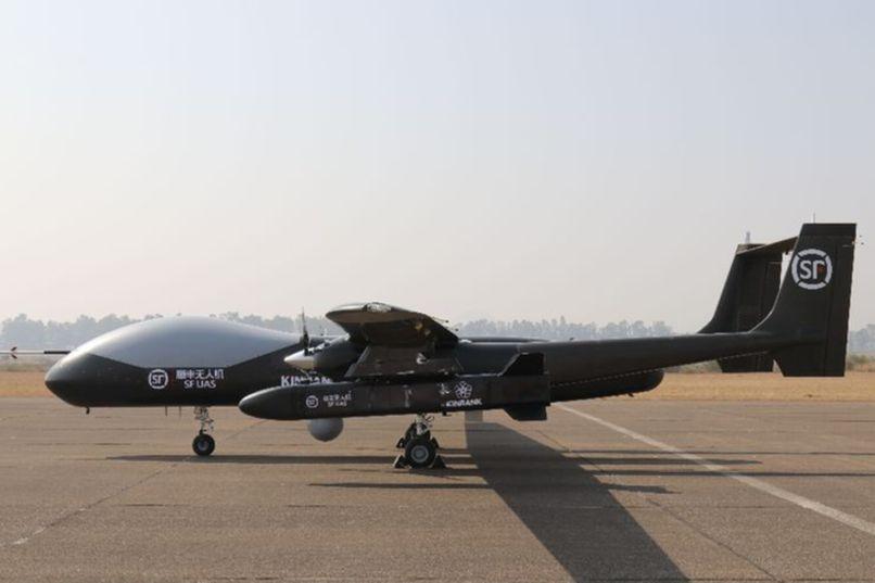 騰盾雙尾蝎進軍物流航空 順豐實現用中大型無人機空投