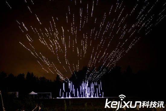 500架無人機燈光秀一人操作