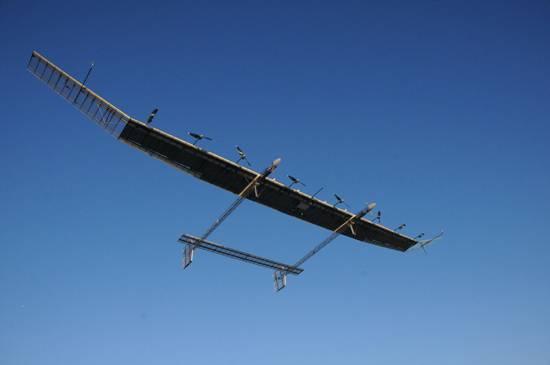 中國太陽能無人機建空中局域網 2018年底或示范應用