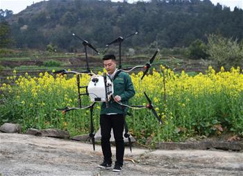 無人機助力春季農業生産