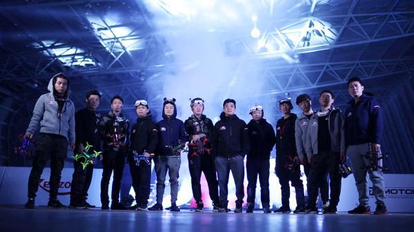 """戴FPV:無人機""""空中F1""""賽在上海打響"""