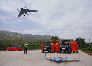北京鳳凰嶺:無人機巡查護林防火