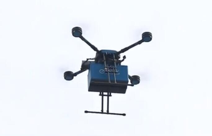 上海:外賣無人機航線啟動 下單20分鐘送達