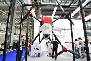 第三屆深圳國際無人機展覽會在深圳舉行
