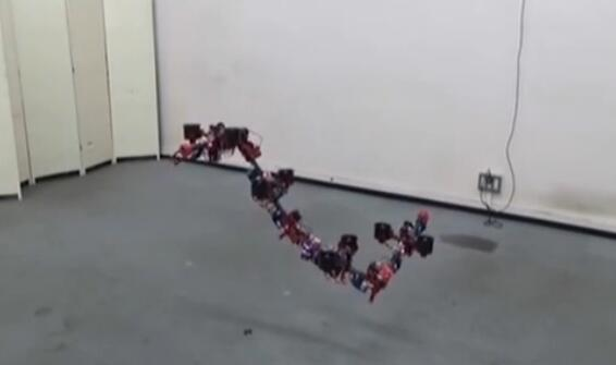 """無人機會變形 機器人能走""""梅花樁"""""""