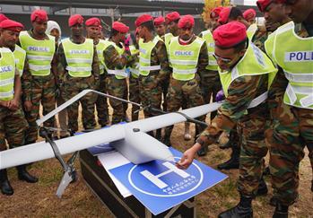 公安大學為埃塞俄比亞警察進行無人機培訓